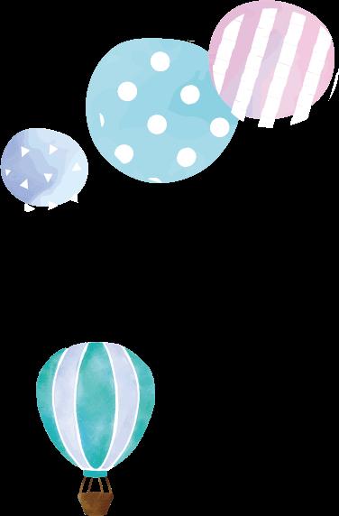 気球イラスト1