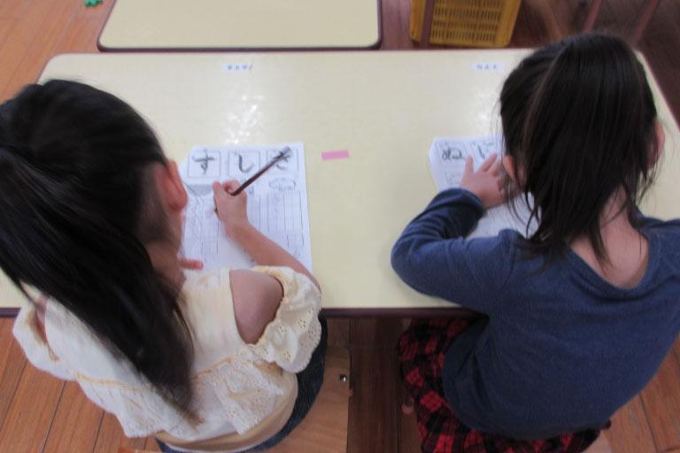 硬筆教室(年長クラス)